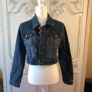 Jackets & Blazers - Denim Cropped Jacket